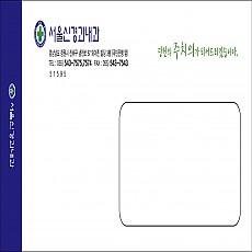 칼라창봉투/일반모조/A4(220mm*105mm)